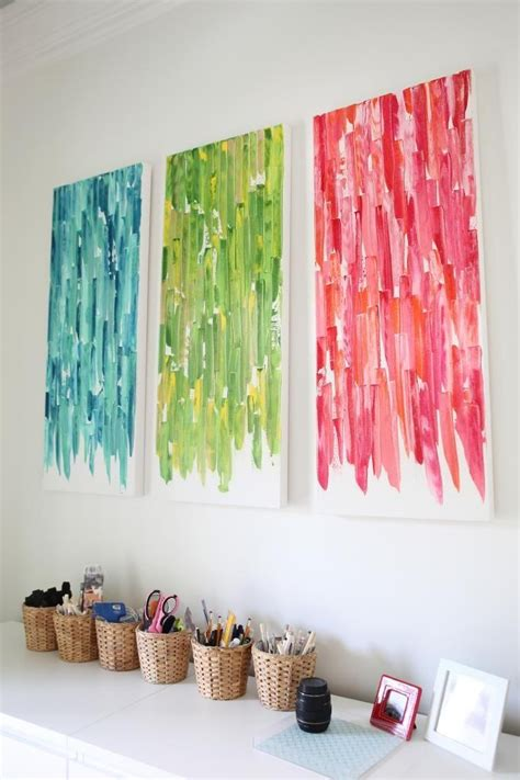 diy projects canvas top 20 diy canvas wall ideas