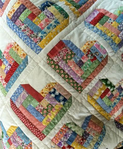 patchwork log cabin log cabin quilt something different quilts