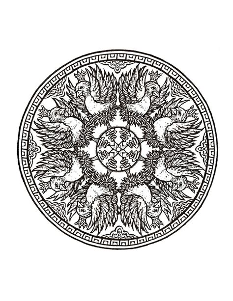 mystical mandala coloring books mystical mandala coloring book dover coloring