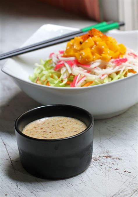 kewpie asian dressing japanese style salad with roasted sesame dressing i ve