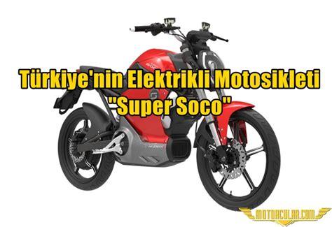 tuerkiyenin elektrikli motosikleti super soco