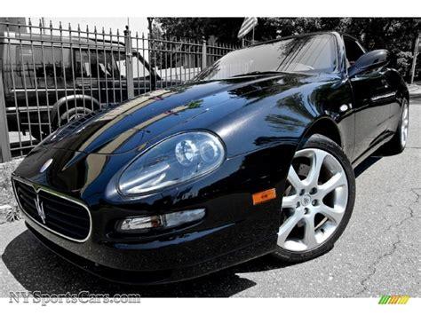 maserati coupe black 2005 maserati coupe cambiocorsa in nero carbonio black