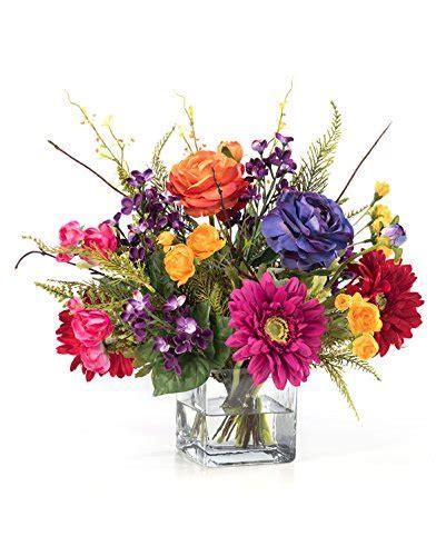 Silk Flower Wedding Centerpiece by Festive Mood Silk Flower Centerpiece Silk Flowers