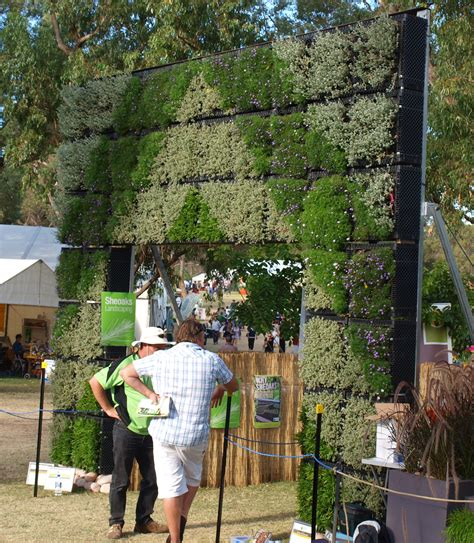 Vertical Garden Perth Vertical Garden Green Wall Perth Garden Week 2011 Green