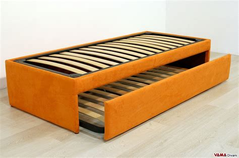 letti con letto estraibile doppio letto singolo estraibile a scomparsa con reti a doghe