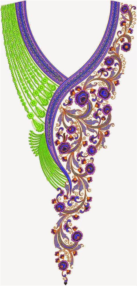 embroidery design gown pakistani dress embroidery lovely neck designs