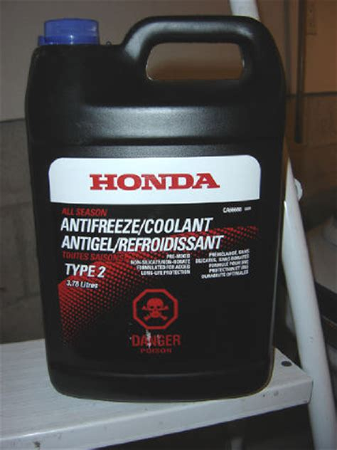 Honda Coolant what coolant do you use ninjette org