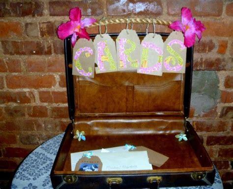 Honeymoon Wedding Shower Gift/Card Suitcase   honeymoon