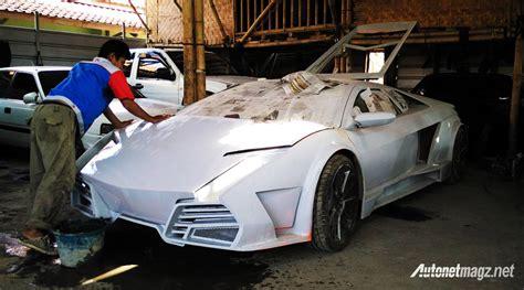 bengkel modifikasi mobil lamborghini bengkel modifikasi di bandung ini rancang replika bodi