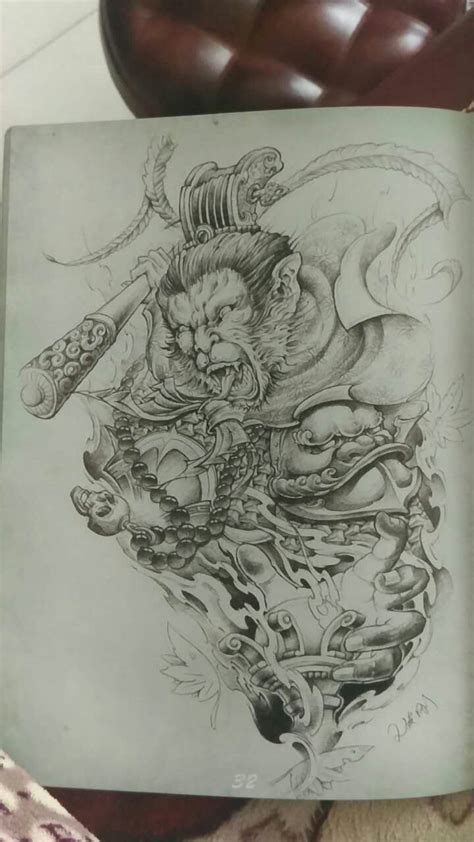 monkey tattoo design 10 best monkey king images on monkey