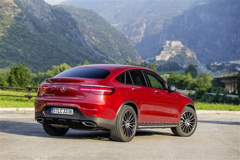 mercedes jeep 2016 red 2017 mercedes benz glc coupe review gtspirit