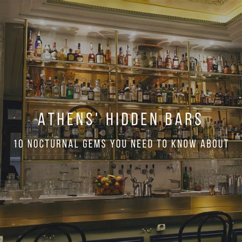 The Ultimate Bar by The Ultimate Bar Crawl Athens Metro Bar Map