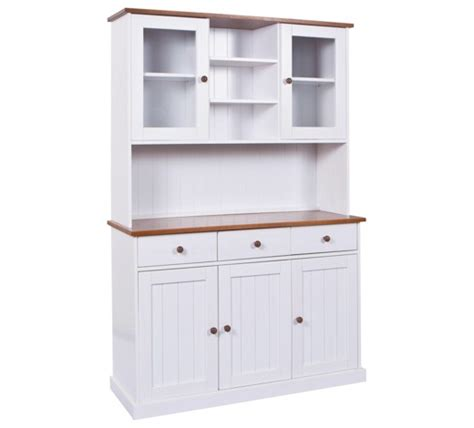 kredenz landhausstil buffet kiefer massiv wei 223 kaufen xxxlshop