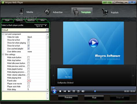 Moyea Web Player Download Flash Player Website Templates