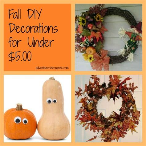 cheap diy fall decorations fall diy decoration and fall on