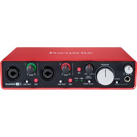 Focusrite 2nd Soundcard Audio Interace focusrite 2i4 usb audio interface 2i4 2nd