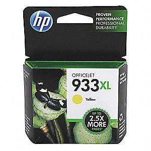 Cartridge Hp 933xl Yellow hp hp ink cartridge no 933xl yellow 36eh84 cn056an140
