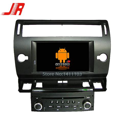 For Citroen C4 Car Audio Android 4 4 Car Dvd Gps