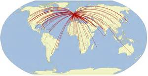 British Airways Route Map by Airline Route Maps James Geo Blog