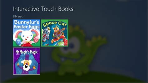 touch books interactive touch books for windows 8 gems