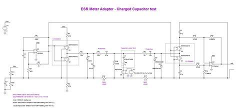 capacitor esr simulation esr meter adapter design and construction page 1