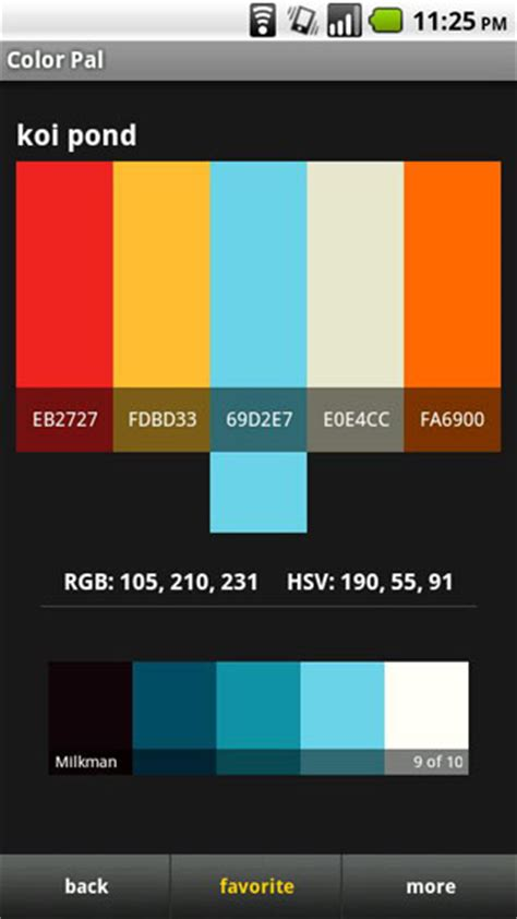 android color scheme android color scheme