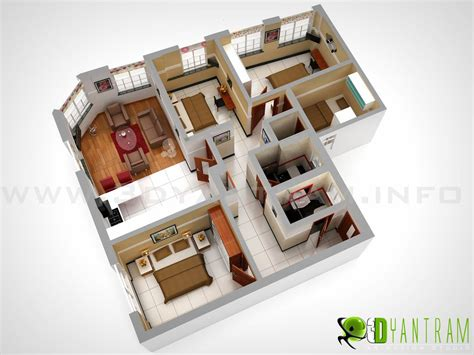 Apartment Floor Planner 3d floor plan design interactive 3d floor plan yantram