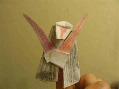 Origami Wookie - sf hj s origami r2d2 yoda darth paper darth maul and