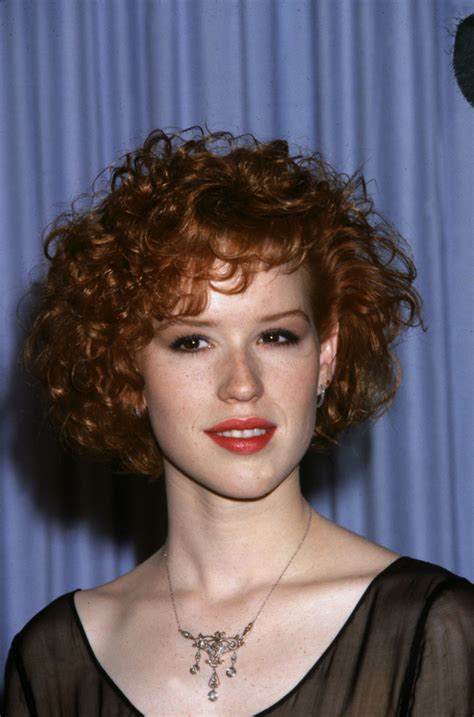 1980s short wavy hairstyles molly ringwald s style evolution photos huffpost