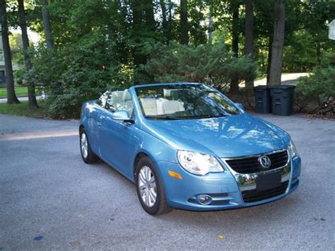 sell used 2008 volkswagen eos 2 0t convertible 2 door 2 0l in exton pennsylvania united states