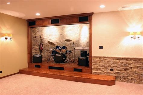 Basement Remodeling Ideas stone wine cellars eclectic basement chicago by
