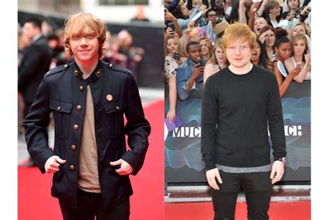 ed sheeran height in cm ed sheeran rupert grint