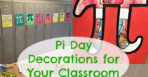 Pi Day Decorations some of the best things in are mistakes pi day