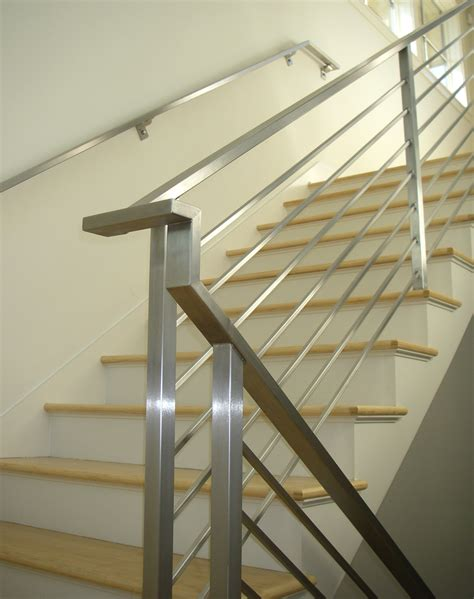 stainless steel banisters contemporary railings stainless steel cable railings