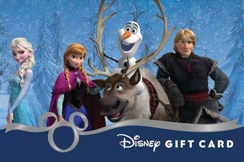Disney Com Gift Card - image frozen cast disney gift card jpg disney wiki