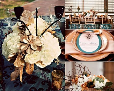 17 best images about Teal & Copper Wedding on Pinterest