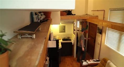 400 sq ft apartment man rebuilds amazingly creative 400 sq ft small apartment