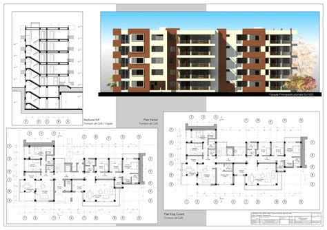 Apartment Blueprints Multistorey Apartment Building By Axeliix On Deviantart