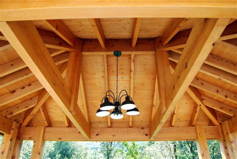 Kitchen Lighting Ideas Vaulted Ceiling Plan For An Easy 16 X 20 Diy Solid Wood Pergola Or