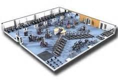 gymnastics layout gainer cybex commercial gym design rendering cybex design