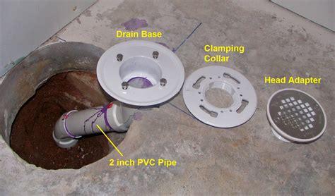 bathtub drain installation in concrete how to finish a basement bathroom shower drain rough in