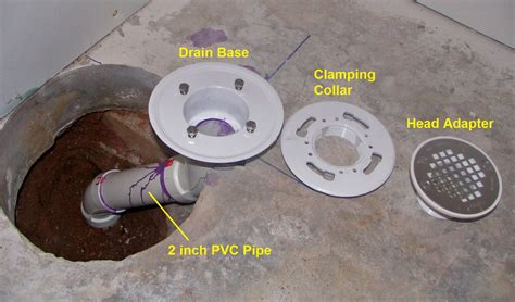 How To Finish A Basement Bathroom: Shower Drain Rough In