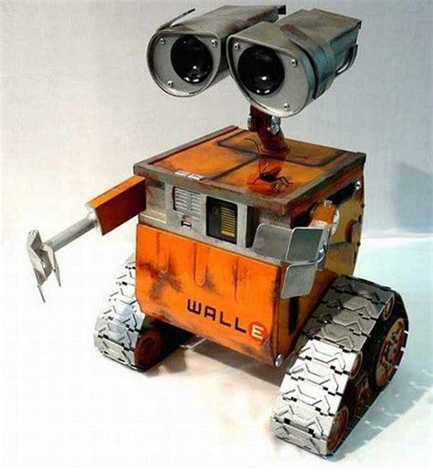 wall e robot jaw dropping real life wall e robot bit rebels
