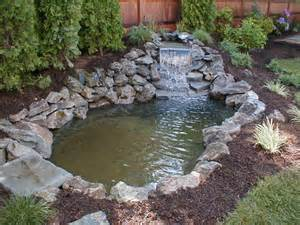 ponds waterfalls poolscapes design long island kito