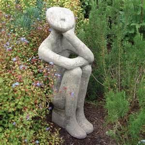large garden sculpture georgie modern stone statue ebay