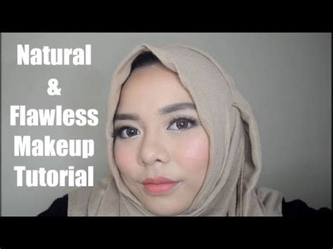 Tutorial Makeup Flawless Indonesia | natural and flawless makeup tutorial bahasa indonesia