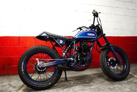 blitz motorcycles yamaha tw  blue tracker