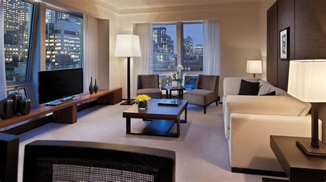 the living room new york residence suite new york city luxury hotel langham