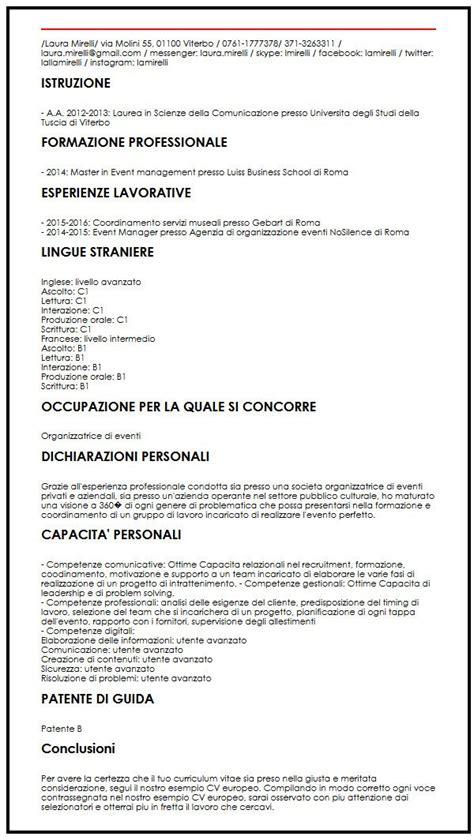 Curriculum Vitae Resume Sles Doc curriculum vitae europeo formato doc resume builder 81