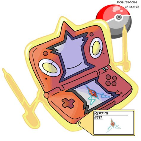 Toaster Types Rotom Ds Form By Pokemon Mento On Deviantart
